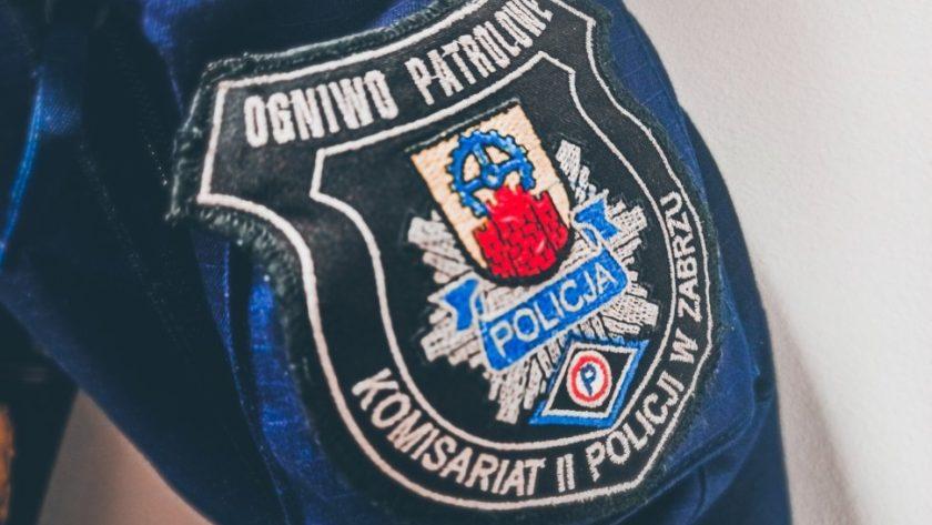 policja naszywka