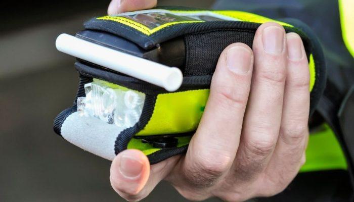 alkomat, kontrola Policji