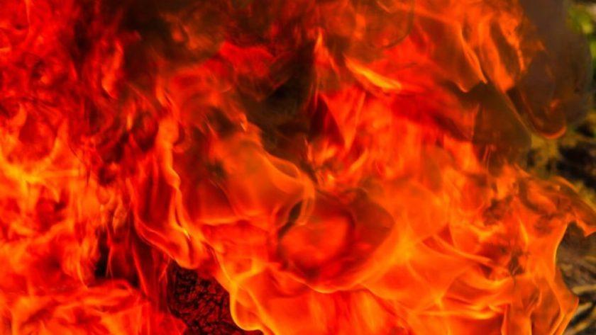pożar, ogień